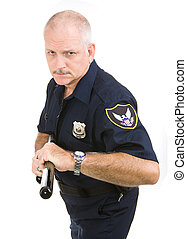 policial, -, agressivo