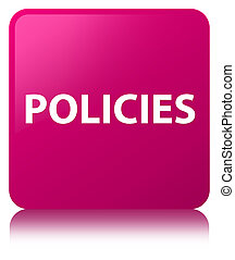 Policies pink square button