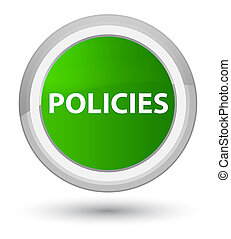 Policies prime green round button
