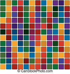 policromático, mosaico