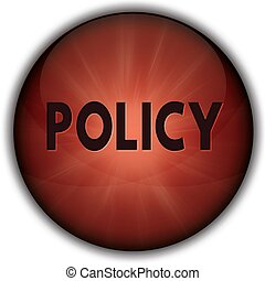POLICY red button badge.