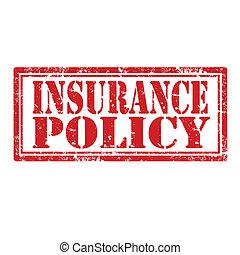 policy-stamp, страхование