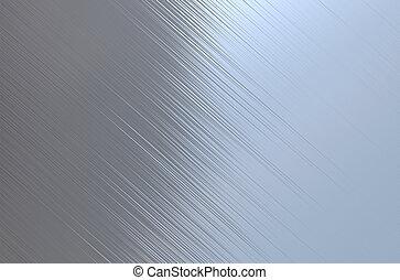 poliertes metall