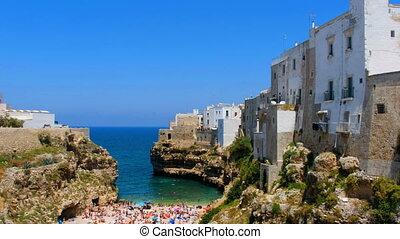 Polignano a Mare - Bari - Apulia - south italy sea village...