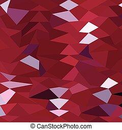 poligono, astratto, basso, fondo, carminio, rosso