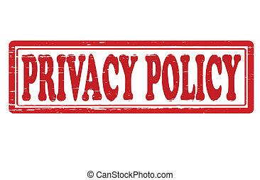 poliicy, プライバシー