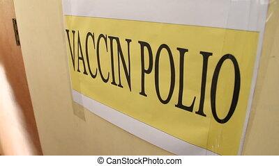 polio, vaccin, signe