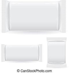 Polipropilen package. Illustration on white background