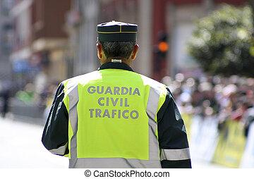 polis, spansk