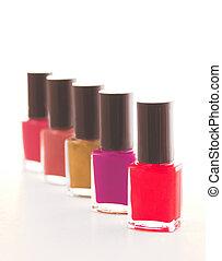 Polish - fingernail polish, dramatic setting