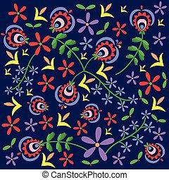 polish pattern folk Podhale