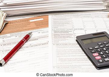 Polish tax form