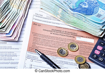 Polish tax forms