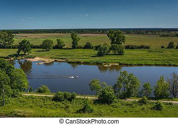 Polish worth river