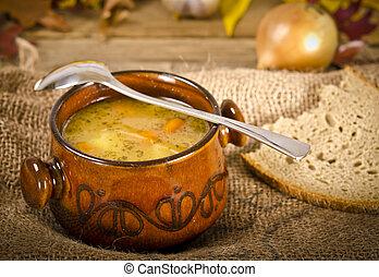 (polish, zupa, groch, grochowka)