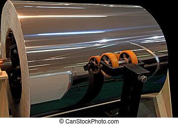 Polished aluminium - Roll of polished aluminium for...