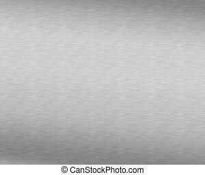 Polished Aluminum Silver Background - Great for Presentation or Design Work