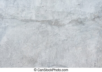 Polished cement wall.