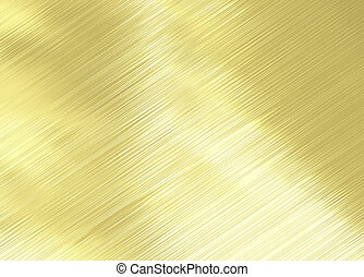 highly polished and reflective gold background