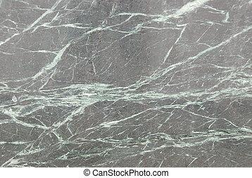 Polished granite - A polished slab of granite