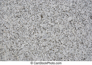 Polished granite with gray color