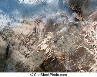 Polished marble, background, close-up