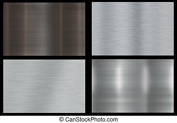 Polished Metal Background - Polished Metal Abstract...