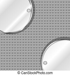 polished metal steel texture, vector background