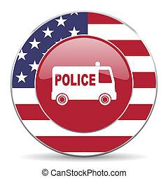 politi, amerikansk ikon
