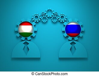 Politic and economic relationship between Hungary and Russia