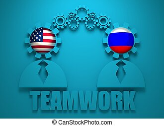 Politic and economic relationship between USA and Russia