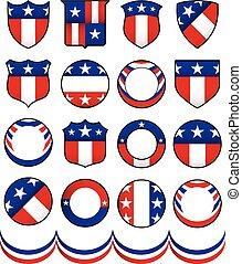 Political Badges