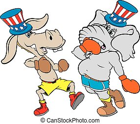 political boxing