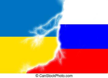 Russian Ukrainian conflict.
