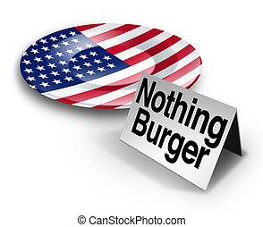 Political Nothing Burger - Political nothing burger or ...