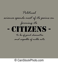Political science spends most of its pains... - Political...