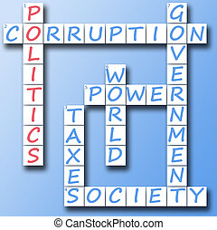 Politics on crossword