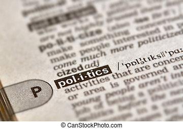 Politics Word Definition Text