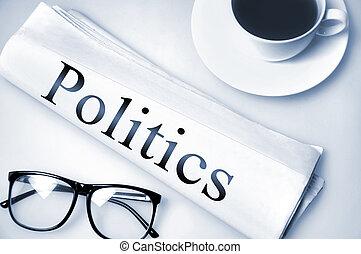 Politics word