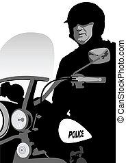 politie, motorfiets