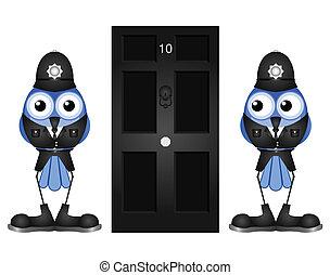 politieagenten, komisch