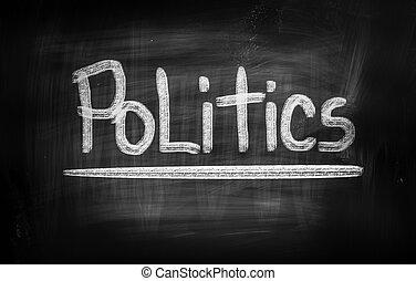politiek, concept