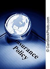 politik, erdball, versicherung