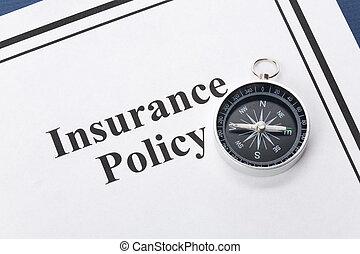 politik, försäkring