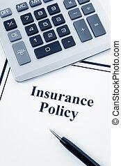 politik forsikring