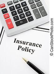 politik, forsikring