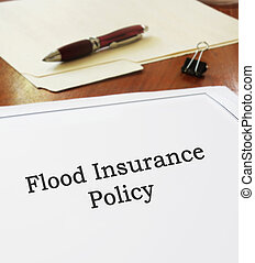 politik, oversvømme, forsikring