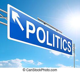 politika, concept.