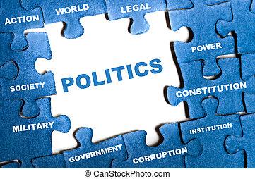 politika, rejtvény