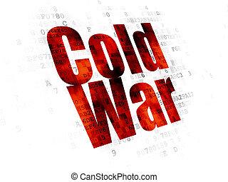 politikai, háttér, digitális, hidegháború, concept: